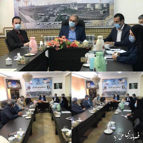 راه اندازی دبیرخانه شهر ملی صنایع دستی در شهرستان علی آبادکتول