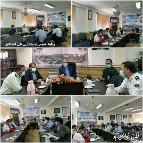 مرکز بستری اضطراری بیماران کرونایی در علی آباد کتول راه اندازی خواهد شد ؛