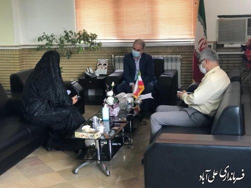 ملاقات عمومی فرماندار علی آباد کتول با شهروندان طبق برنامه هفتگی برگزار شد ؛