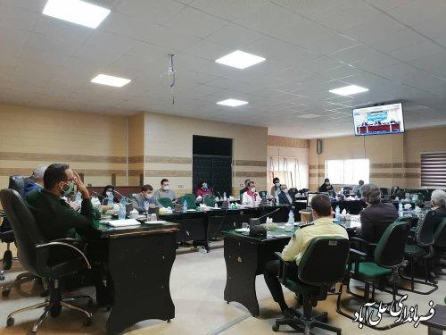 بستری 175 بیمار کرونایی/رکورد بستری بیماران کرونایی در علی اّباد کتول شکسته شد