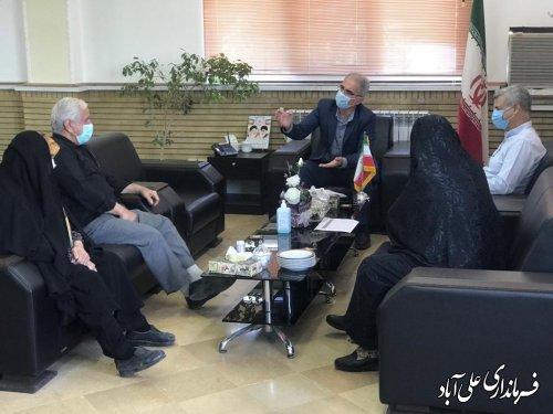 ملاقات عمومی فرماندار علی آبادکتول با شهروندان و مردم منطقه برگزار شد ؛
