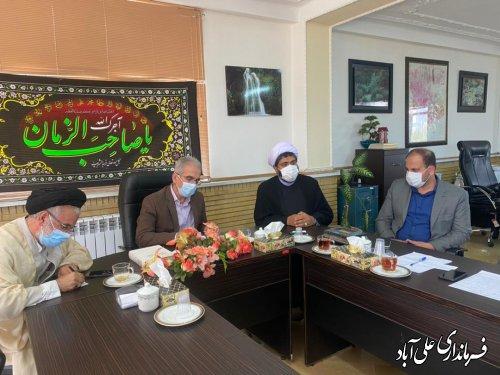 بایستی از همه ظرفیت شهرستان برای ساماندهی امامزاده هارون(ع) الازمن استفاده شود