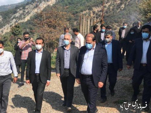 افتتاح دو اقامتگاه بومگردی در روستای بالاچلی شهرستان علی آباد کتول