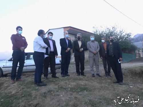 بررسی معضل گازرسانی به نقاط رانشی روستای کوهستانی چه جا ؛