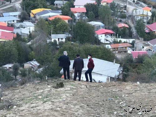 بررسی معضل گازرسانی به نقاط رانشی روستای کوهستانی چه جا